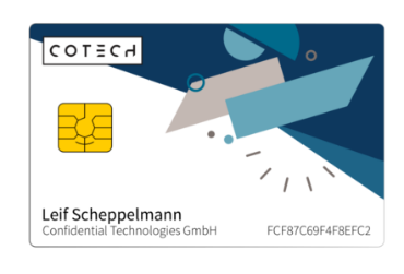 COTECH security card